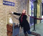 kaley harry potter london.jpg