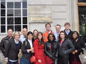Mike Phillips' class at Bloomberg